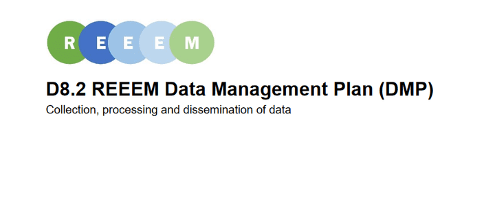 Data management plan