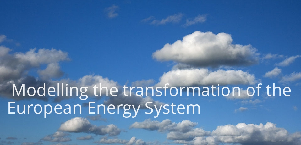Modelling the transformation of the European Energy System